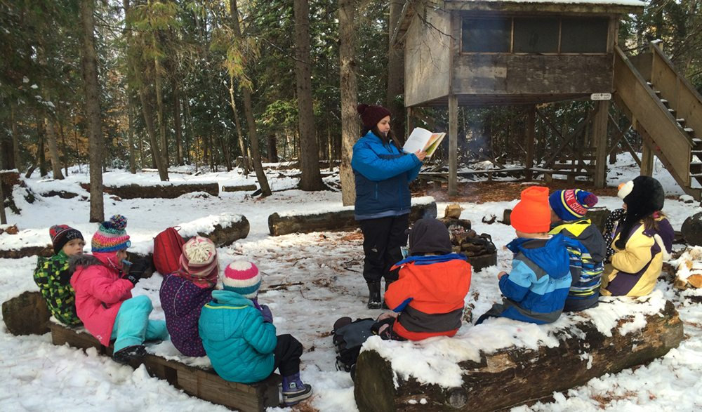 The Outdoor Kindergarten Program